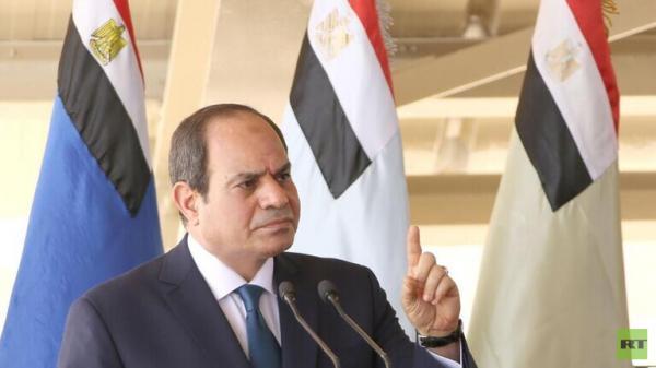 السيسي يصدر أوامر للجيش المصري بشأن ليبيا