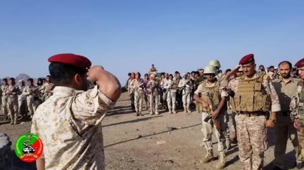 ضباط وأفراد اللواء 35 مدرع بتعز يصدرون بيان هام