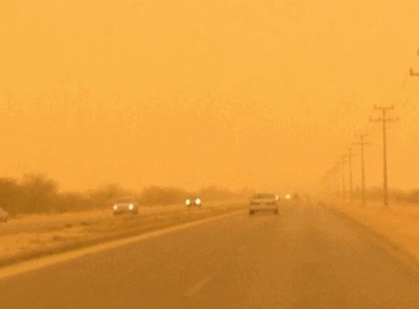 عواصف تضرب جازان السعودية تحد من مستوى الرؤية (تفاصيل)