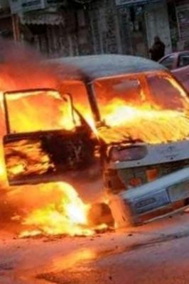 في أول ظهور لمالك الباص المحترق بصنعاء بعد تكاتف الناس معه.. يعلن عن مبادرة جديدة !