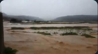 عاجل: انفجار سد في عمران نتيجة غزارة الامطار واطلاق الاعيرة النارية