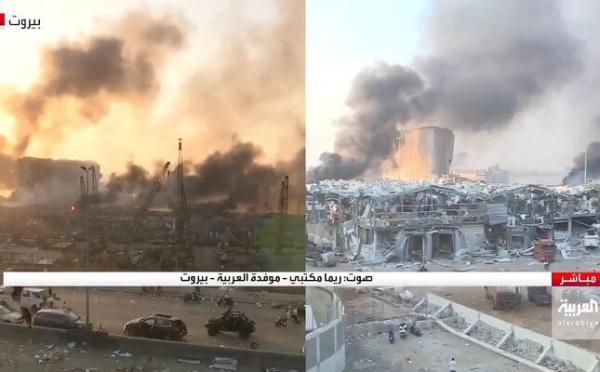 مراسلة العربية ريما مكتبي تنهار بعد تدمير منزلها في انفجار بيروت.. وتكشف ما حدث لوالدتها