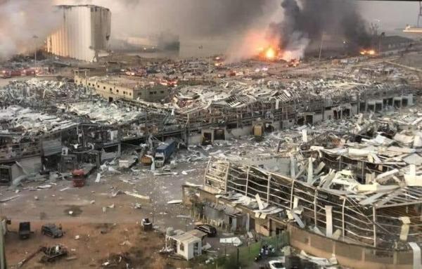شاهد بالصور والفيديو حجم الدمار الذي خلفه انفجار بيروت امس