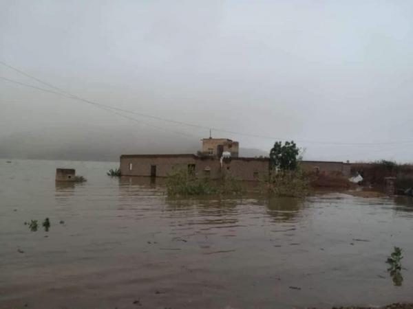احصائية رسمية مروعة عن حجم الدمار في مأرب نتيجة الامطار الغزيرة والسيول