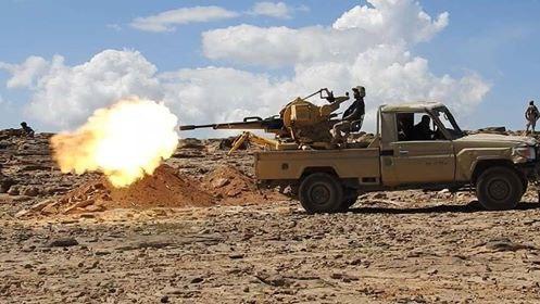 مسؤول عسكري يتحدث عن تقدم كبير لقوات الجيش في ماهلية