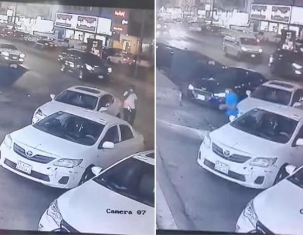 بالفيديو أمام محل في جدة.. لص يسرق سيارة لكزس تركها صاحبها في وضع التشغيل