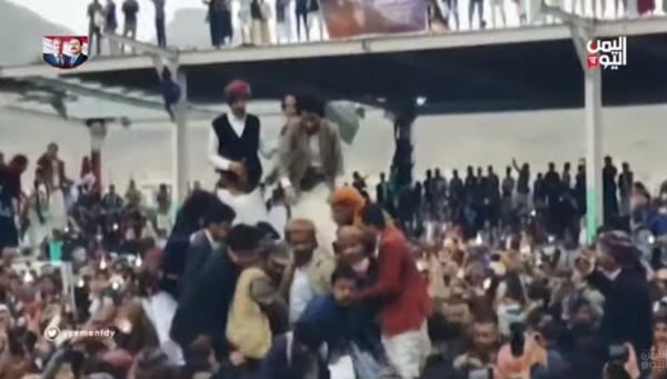 عرس مصطفى المومري يستنفر السلطات بصنعاء ومصادر تكشف سبب الغاء العرس (فيديو)