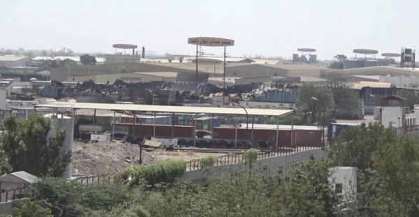 مجدداً قصف مجمع اخوان ثابت في الحديدة