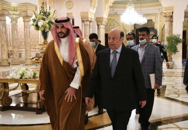 الرئيس هادي يلتقي بن سلمان.. لهذا السبب