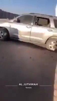 فيديو يظهر قصف الحوثيين على معسكر تداويين في مأرب وسقوط ضحايا