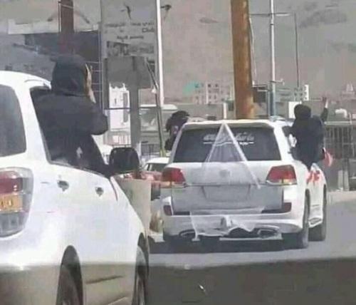 صورة لطالبات جامعة صنعاء تغضب نشطاء مواقع التواصل