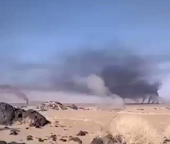فيديو يظهر حجم خسائر الحوثيين بجبهة مأرب