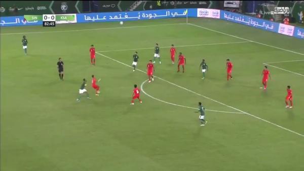 المنتخب السعودي يتغلب على سنغافورة بثلاثية نظيفة (شاهد اهداف المباراة)