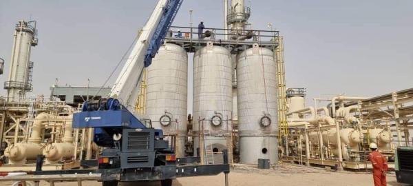 بيان من شركة صافر : انتهينا من صيانة مصنع الغاز وسيتم رفع الإنتاج