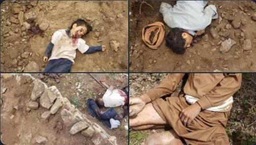 مقتل خمسة من عائلة النجار بحجة بطريقة بشعة (صور)