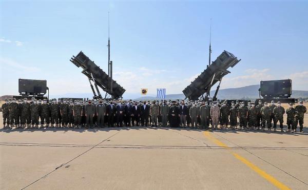 اليونان تسلم السعودية نظام صواريخ باتريوت الدفاعية (فيديو)