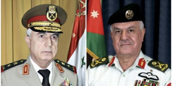 زيارة مفاجئة ولأول مرة منذ 2011 وزير الدفاع السوري يزور الأردن