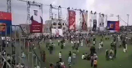 شاهد كيف استدرج حمود سعيد المخلافي النساء إلى ملعب الشهداء بمدينة تعز.. وماذا حدث !