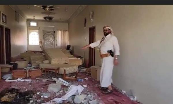 الحوثيون يستهدفون منزل محافظ مأرب بالصواريخ البالستية (صور)
