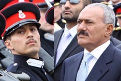 أول تعليق من خالد علي عبدالله صالح في أول ظهور له عقب مقتل والده ؟