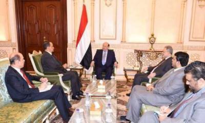 جميح يكشف عن رد (محرج) لولد الشيخ من الرئيس هادي بعد ان طلب منه بدء مفاوضات مع الحوثيين