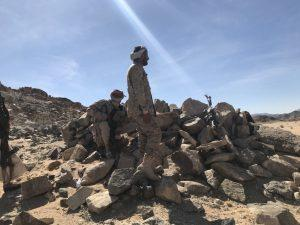 تعرف على المواقع التي خسرتها جماعة الحوثي يوم امس في منطقة «برط العنان» بالجوف