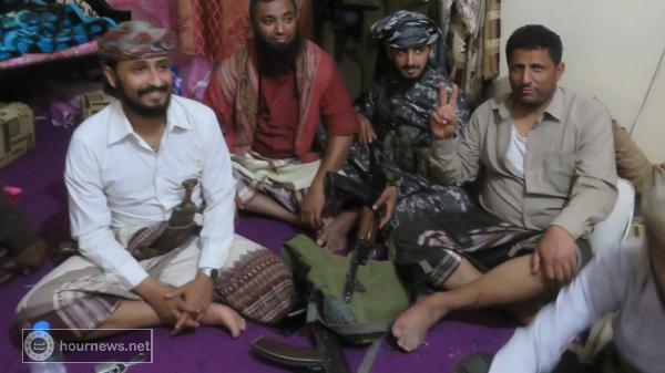 نجاة قائد اللواء خامس حماية رئاسة الموالي لهادي من حادث مروع (صور)