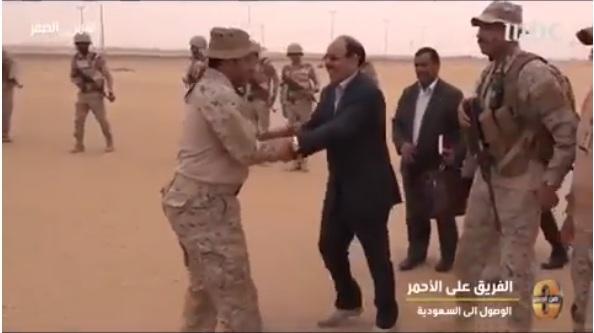السفير السعودي باليمن يكشف التفاصيل الكاملة لخروج اللواء علي محسن الاحمر من صنعاء يوم 21 سبتمبر (فيديو)