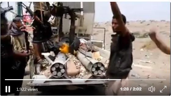 صواريخ الحوثي تسقط بأيدي المقاومة.. وقائد لواء العمالقة يكشف: 20 كيلو متر تفصل المقاومة عن مدينة الحديدة (فيديو)