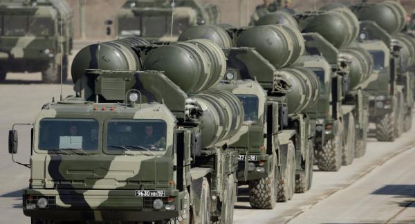 """صواريخ """"إس - 500"""" الروسية تسقط 3 طائرات أمريكية (فيديو وصور)"""