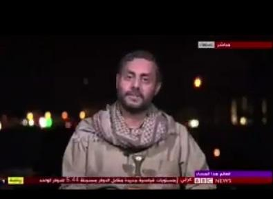 """القيادي الحوثي """"محمد البخيتي"""" يعترف على الهواء مباشرة بهذه الحقيقة! (فيديو)"""
