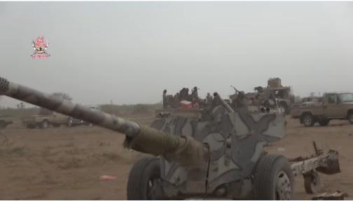 شاهد بالفيديو: غنائم الوية العمالقة بعد هزيمة الحوثيين بالقرب من كيلو 16 بالحديدة