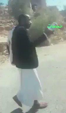 فيديو محزن .. مواطن يمني في صنعاء يبكي بسبب ارتفاع سعر الزبادي ..