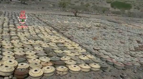 مشهد فيديو صادم لجميع اليمنيين .. لن تصدق ما تراه عينك، شاهد مالذي زرعه الحوثيون في جبهة واحده فقط