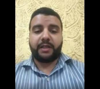 يمني بمصر يحمل السلطات المصرية والسفارة اليمنية مسؤلية سلامته وسلامة والدتها بعد محاولة قتلها داخل شقتها (فيديو)