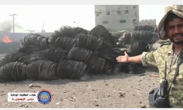 فيديو يكشف ماذا فعلت جماعة الحوثي بمخازن ومستودعات المؤسسة العامة للكهرباء في الحديدة