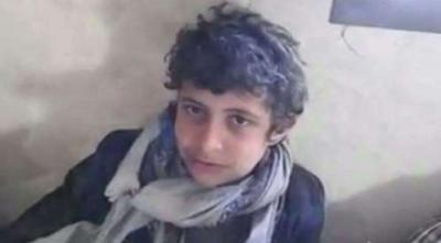شاهد بالفيديو الطفل الحوثي الذي ظهر باكيا هو بيد الجيش يقع اسيرا للمرة الثانية
