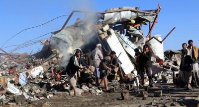 مقتل يمنيين في غارة لطيران التحالف على صعدة