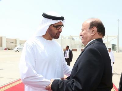 تقارب بين الرئاسة اليمنية والإمارات وزيارة مرتقبة للرئيس هادي إلى أبوظبي (تفاصيل)