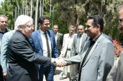 جدول أعمال المبعوث الأممي الجديد في صنعاء بالساعات والأماكن وأسماء الشخصيات التي سيلتقيها..!