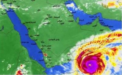 وكالة :خبراء الأرصاد الجوية بالهند: عاصفة هوجاء شديدة للغاية تضرب عُمان واليمن يوم السبت