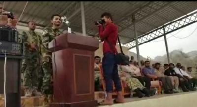 ابو اليمامة يتعهد بالسيطرة على عدن وطرد الشرعية خلال أيام (فيديو)
