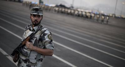 موقف إنساني لرجل أمن سعودي (فيديو)