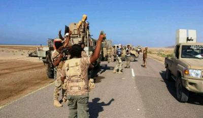 شاهد.. مقطع فيديو يرصد هروب مليشيا الحوثي من «الحديدة»
