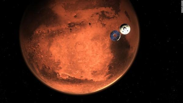 ناسا تنشر أول تسجيل صوتي من كوكب المريخ وفيديو يُظهر هبوط المركبة على الكوكب الأحمر
