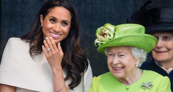 ملكة بريطانيا تصدر قرار مفاجئ بشأن ميغان ماركل زوجة الأمير هاري
