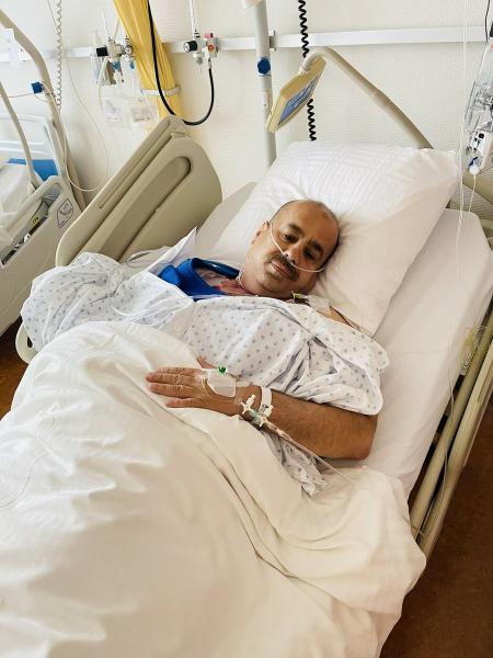 بعد تداول ناشطون عن وفاته :ياسر اليماني يطل على متابعيه من فراش المرض ويوجه رسالة(فيديو)