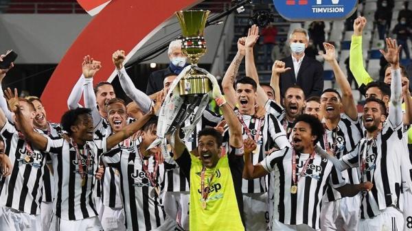 يوفنتوس يتوج بلقب بطل كأس إيطاليا لكرة القدم للمرة الـ14 في تاريخه